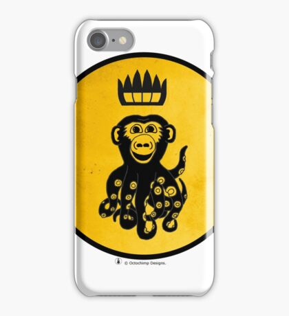 King Octochimp Says Hi iPhone Case/Skin