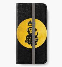 King Octochimp Says Hi iPhone Wallet/Case/Skin