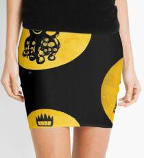 King Octochimp Says Hi Mini Skirt