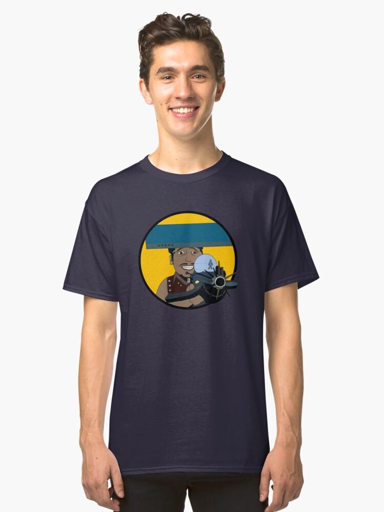 Z-140 (Alleviated titanium. Neurocharged assault model) Classic T-Shirt Front
