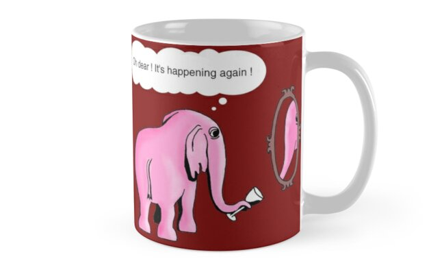 I drink to get trunk by Octochimp Designs