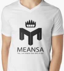 meansa Men's V-Neck T-Shirt