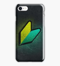 Wakaba case (2) iPhone Case/Skin