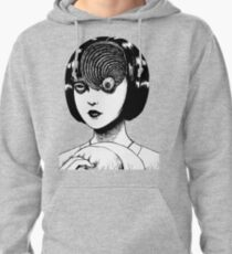 Woman With Special Eyeball Pullover Hoodie