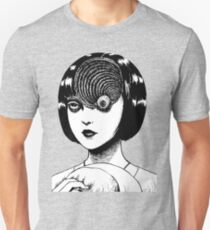 Woman With Special Eyeball Slim Fit T-Shirt