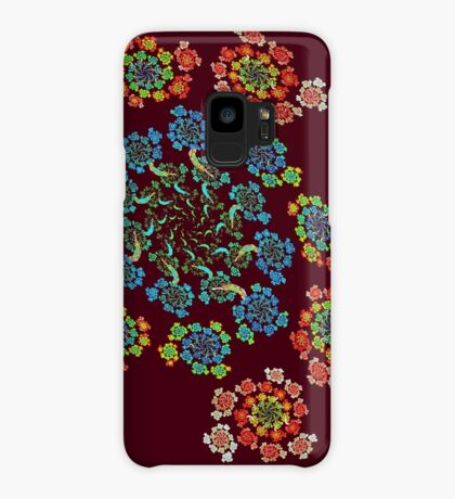Flowers #Fractal Art Case/Skin for Samsung Galaxy