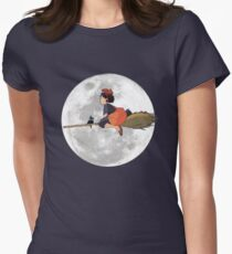 Kiki's Delivery Service (1989) Women's Fitted T-Shirt