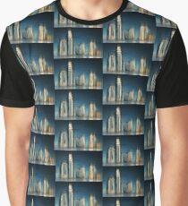 Golden Skyline © Vicki Ferrari Graphic T-Shirt