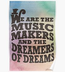 The Music Makers Poster
