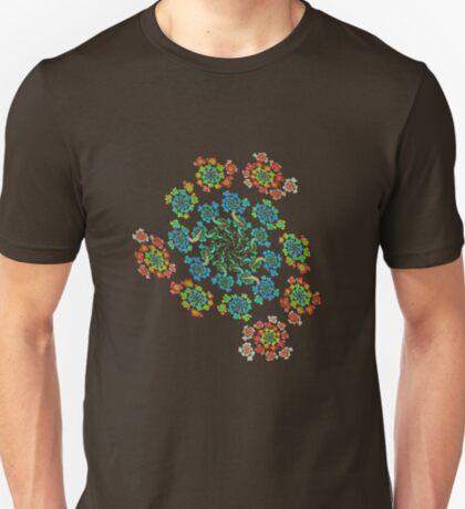 Flowers #Fractal Art T-Shirt