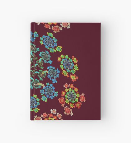 Flowers #Fractal Art Hardcover Journal