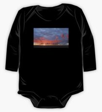 Amazing Sunset Clouds One Piece - Long Sleeve