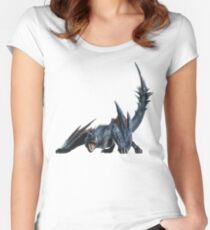 Nargacuga Women's Fitted Scoop T-Shirt