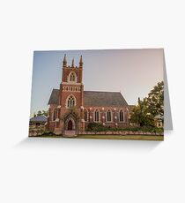 Mudgee Anglican Church NSW Australia Greeting Card