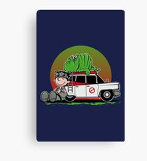 GHOST PEANUTS Canvas Print