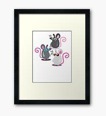 Three rat THE RAT PACK! Framed Print
