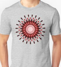 Sun Flower Retro Pattern Unisex T-Shirt