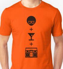 Formula for a Pre-party Unisex T-Shirt