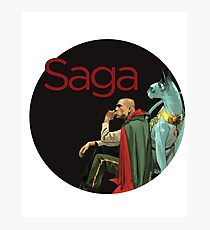 Saga - The Will Photographic Print