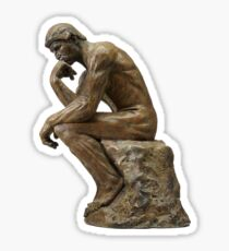 The Thinker Sticker