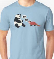 Questioning Pandas Unisex T-Shirt