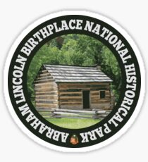 Abraham Lincoln Birthplace National Historical Park circle Sticker