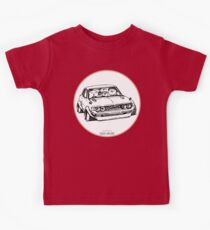 Crazy Car Art 0005 Kids Tee