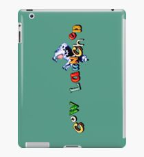 Earthworm Jim - Cow Launched iPad Case/Skin