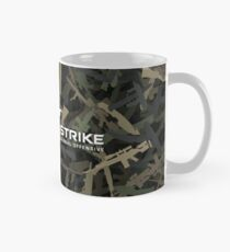 Counter Strike weapon camouflage Mug