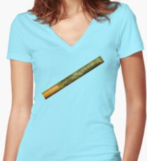 Joint Women's Fitted V-Neck T-Shirt