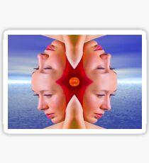 Summer Reflection Sticker
