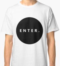 Basic Enter Circle  Classic T-Shirt