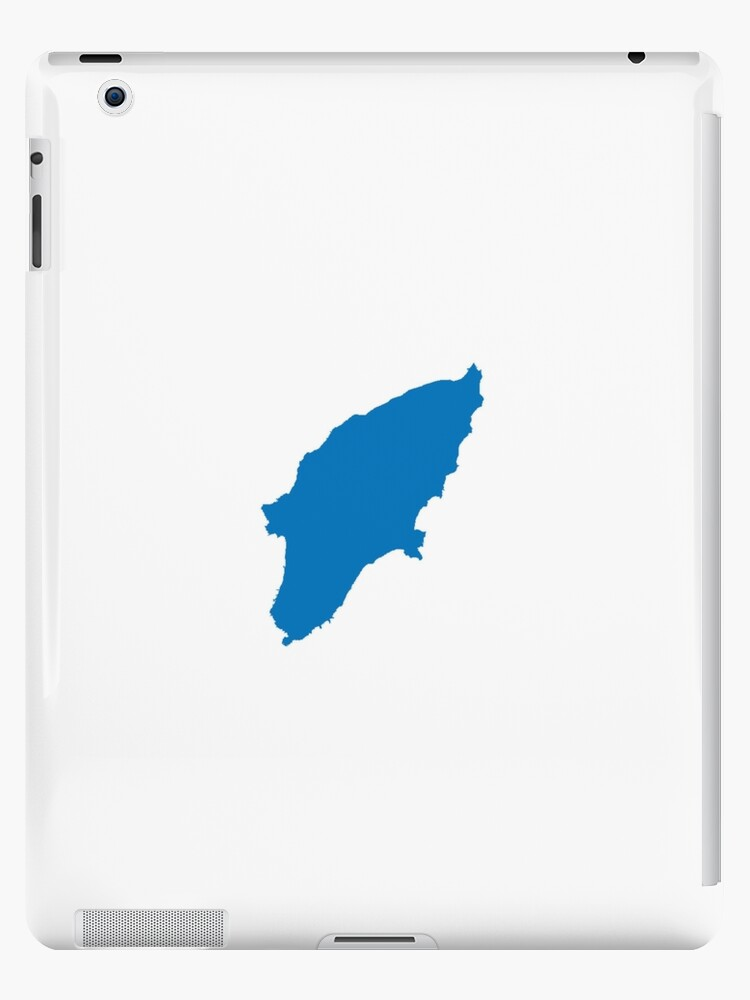 Isla De Rodas Mapa.Vinilo O Funda Para Ipad Mapa De La Isla De Rodas Grecia De Viktorb