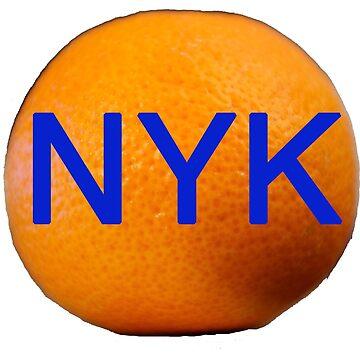 The Big Orange- NYK by heby73