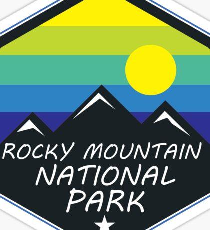 ROCKY MOUNTAIN NATIONAL PARK COLORADO MOUNTAINS HIKING CLIMBING CAMPING 2 Sticker