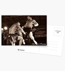 Flying Knee Postcards