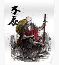 Captain Picard Samurai tribute Poster