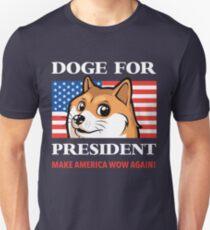 Doge For President Unisex T-Shirt