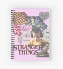 STRANGER THINGS COLLAGE♡ Spiral Notebook