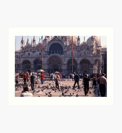 San Marco Square, Venice Art Print