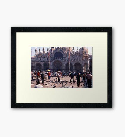 San Marco Square, Venice Framed Print