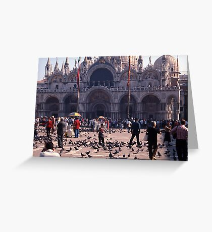 San Marco Square, Venice Greeting Card