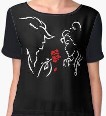 Beauty the Beast Love Shirt Women's Chiffon Top