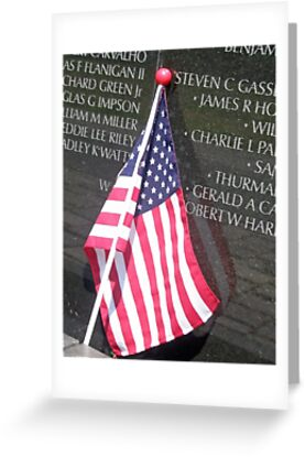 Flag For Fallen Soldier by tvlgoddess