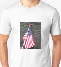 Flag For Fallen Soldier T-Shirt