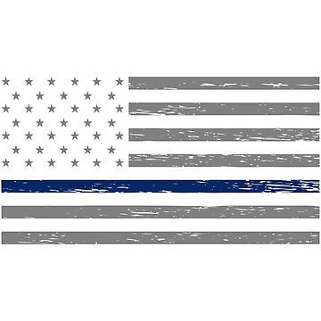 Thin Blue Line Blue Lives Matter by waycooltees