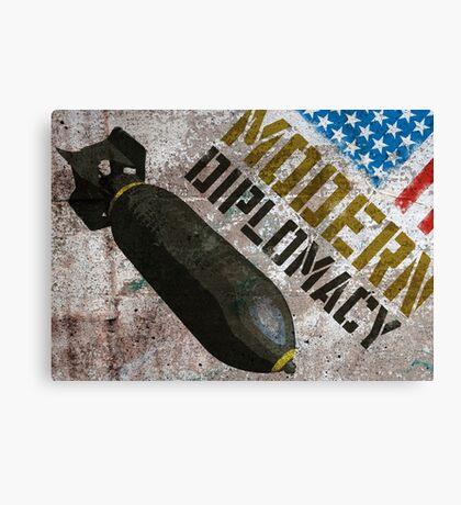 Modern Diplomacy Canvas Print