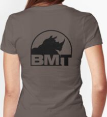 BMT... BIG MUTHER TRUCKER Women's Fitted T-Shirt