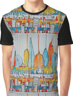 London skyline Graphic T-Shirt