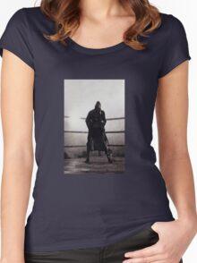 Bronx Bull I Women's Fitted Scoop T-Shirt
